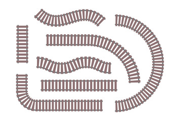 Rails - set of modern vector objects
