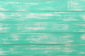 green wooden background, texture