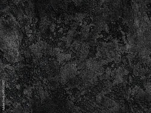. Natural black volcanic seamless stone texture venetian plaster