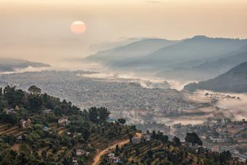 Pokhara, Nepal, Sunrise