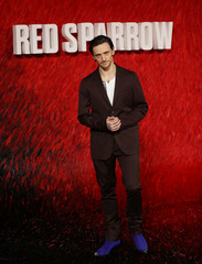 "Dancer Polunin arrives for the European premiere of ""Red Sparrow"" in London"
