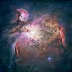 Great Nebula in Orion, Messier 42. Elements of this image furnished by NASA. Retouched image.
