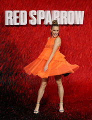 "Actor O'Neill arrives for the European premiere of ""Red Sparrow"" in London"