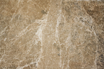 Polished emparador antique marble. Real natural marble stone texture and surface background.