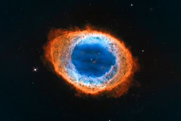 Ring Nebula, Messier 57 Elements of this image furnished by NASA.
