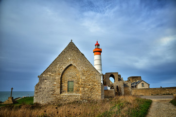 Saint Mathieu lighthouse, Brittany