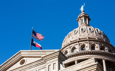 Keuken foto achterwand Texas Texas State Capitol Dome