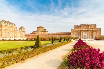 Turin, Piedmont ,Italy, 01 November 2017. Reggia of Venaria Reale, near Turin, in Piedmont, Italy
