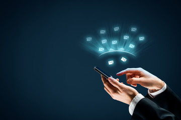 Protect smart phone against spam