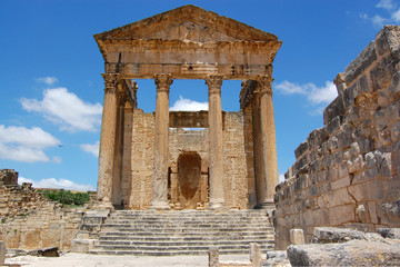 the roman capitol ruins