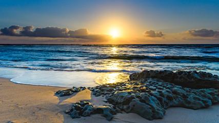 Sunrise Seascape with Rocks