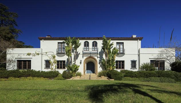 Front facade of a home