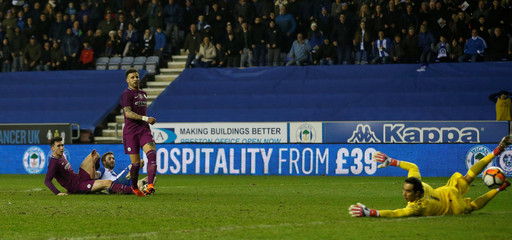FA Cup Fifth Round - Wigan Athletic vs Manchester City