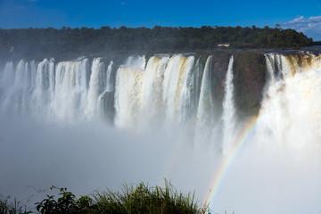 Garganta del Diablo waterfall on Iguazu River