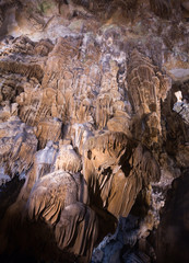 Image of dark cave of Demons in Southern France