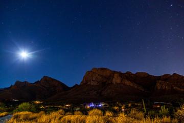 Arizona Desert at Night