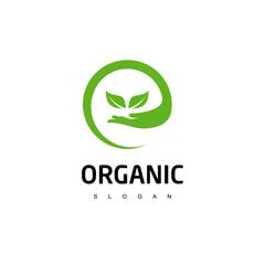 Organic Logo, Nature Icon Design