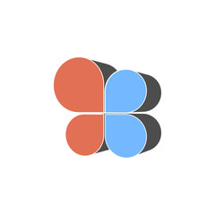 flap chart icon. Element of colored charts and diagrams for mobile concept and web apps. Icon for website design and development, app development. Premium icon