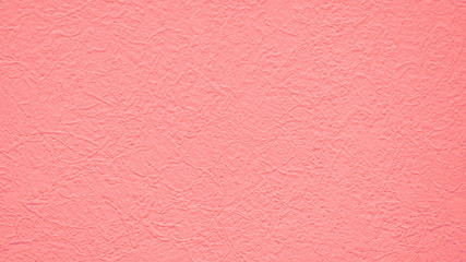 Plaster background in pastel pink - rose pink wallpaper for graphics resource