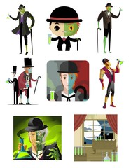 doctor jekyll and mister hyde transformation monster