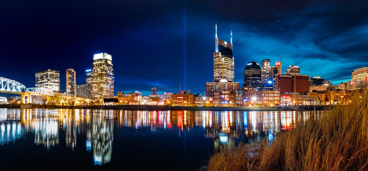 Wall Mural - Nashville Skyline