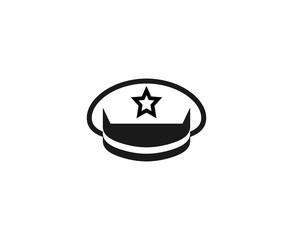 Police cap logo