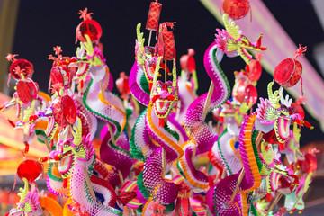 中国・祝い・ドラゴン・魔除け