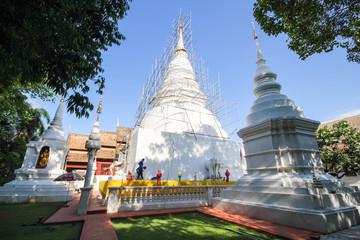 Beautiful temple at Chiang Mai, Thailand