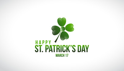 St. Patrick's Day Logo Vector Design