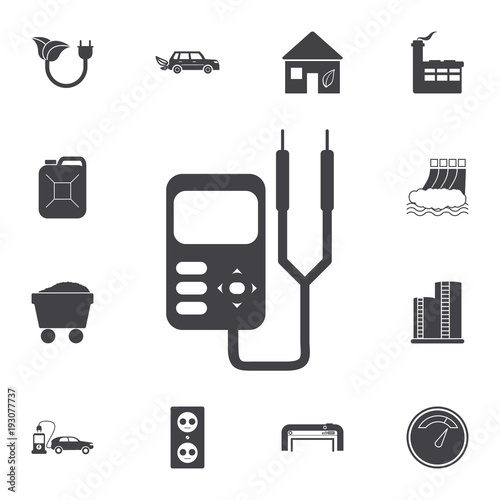 Multimeter Vector Icon Set Of Energy Icons Premium Quality Graphic
