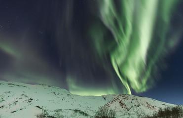 Starkes Polarlicht in Tromsø