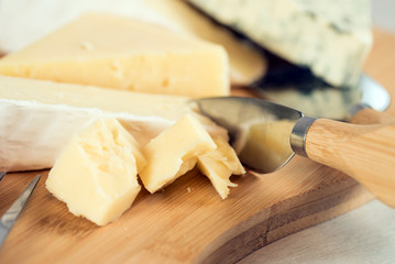 various of cheese board