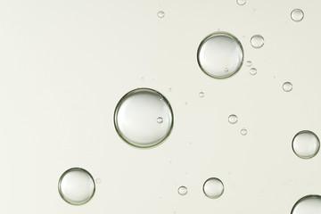 Beautiful air bubbles