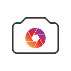 Camera Icon for Web Design