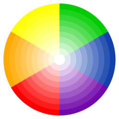color wheel 6-colors