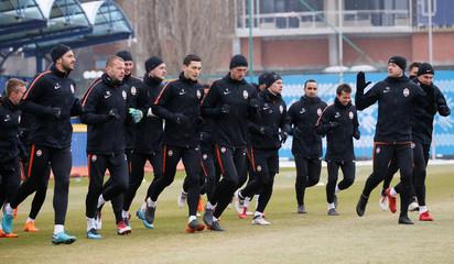 Shakhtar Donetsk Training