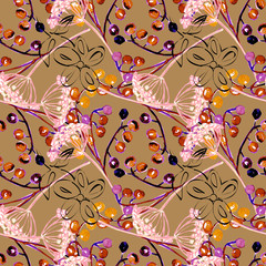 Watercolor background, seamless pattern