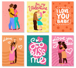 Love Hugs Vertical Cards