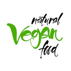 vegan lettering template