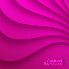 Purple Wavy background. Vector illustration.