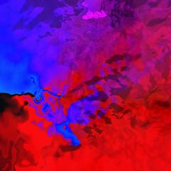 colorful digital painting artwork