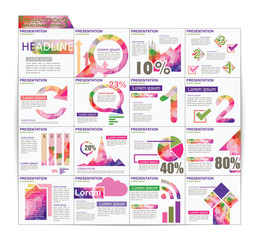 Infographic Presentation Template Brochure