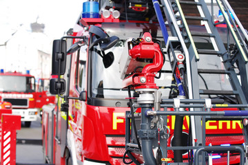 Feuerwehr, Feuerwehrauto