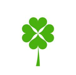 Green clover icon.