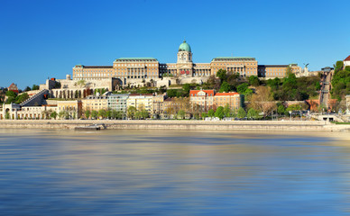 Buda Castle, is the historical castle and palace, Budapest