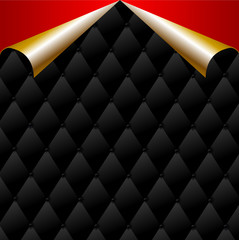 Premium background with gold elements