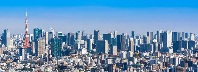 東京都市風景 ワイド