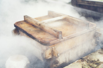 Ancient Japanese Steamer