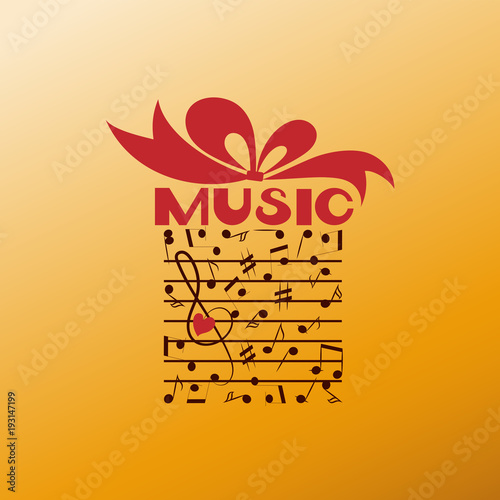 Favorite Music As A Gift Poster Or Banner For Classical Music On