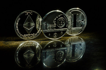 Digital cryptocurrencys bitcoin ethereum litecoin